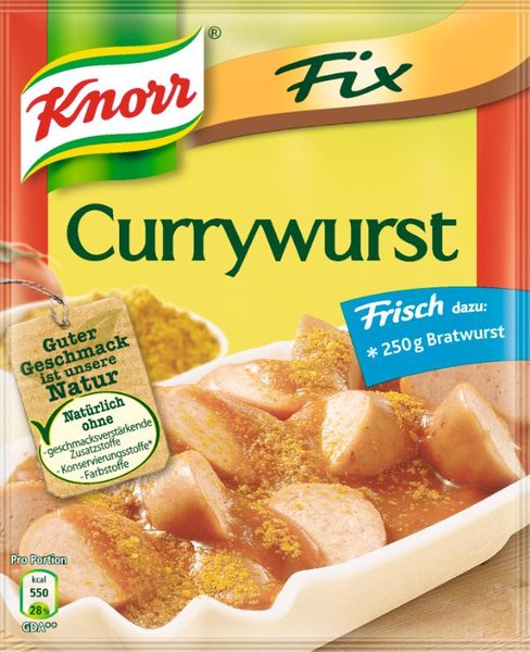 Fix CurryWurst | {Knorr fix 92}